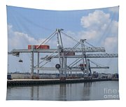 Harbor Rotterdam Tapestry
