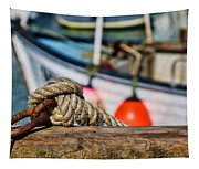 Harbour Knots Tapestry