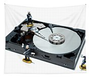 Hard Drive Security Tapestry