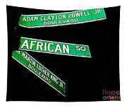 Harlem Crossroads Tapestry