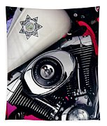 Harley Cop 2 Tapestry