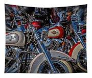 Harley Pair Tapestry