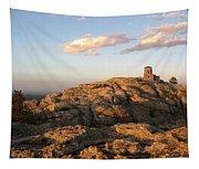 Harney Peak At Dusk Tapestry