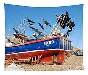 Hastings Fishing Boat Tapestry
