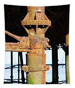 Hastings Pier Supports Tapestry