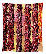 Hatch Red Chili Ristras Tapestry