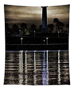 Haunted Lighthouse Tapestry