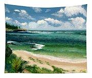 Hawaii Beach Tapestry