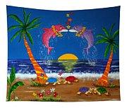 Hawaiian Island Love Tapestry