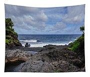 Hawaiian Surf Tapestry