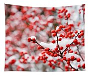 Hawthorn Berries Tapestry