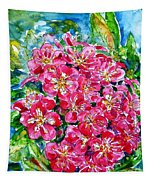 Hawthorn Blossom Tapestry