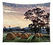 Hay Morning Tapestry