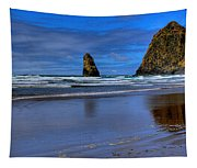 Haystack Rock And The Needles II Tapestry