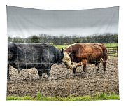 Head To Head Tapestry