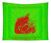Heart And Pepper Tapestry