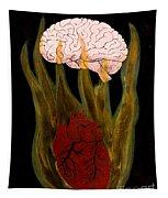 Heart Cooks Brain Tapestry