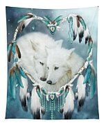 Heart Of A Wolf Tapestry