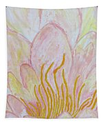 Heart Of Aqualily Tapestry