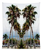 Heart Of Palms Tapestry