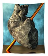 Heart Of Stone Tapestry