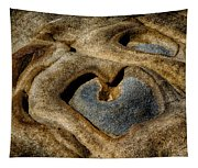 Heart Rock Tapestry