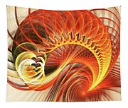 Heart Wave Tapestry