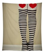 Hearts N Stripes Tapestry