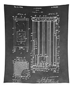 Heater Patent Tapestry