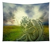 Heavenly Angels Vintage Cool Version Tapestry