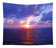 Heavenly Sunset Tapestry