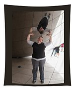 Heavy Lifting Tapestry