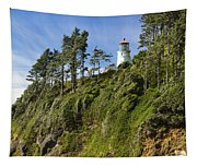 Heceta Head Lighthouse 1 A Tapestry