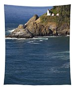 Heceta Head Lighthouse 2 D Tapestry