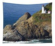 Heceta Head Lighthouse 2 F Tapestry