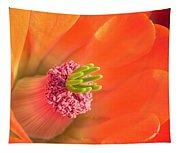 Hedgehog Cactus Flower Tapestry