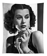 Hedy Lamarr - Beauty And Brains Tapestry