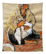 Helene #13 - Figure Series Tapestry
