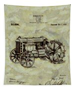 Henry Ford Tractor Patent Tapestry