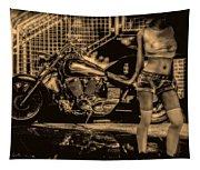 Her Bike Tapestry