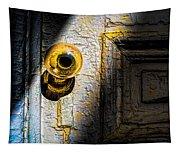 Her Glass Doorknob Tapestry