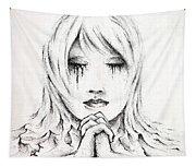 Her Prayers Tapestry