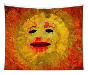 Here Come The Suns Triptych Tapestry