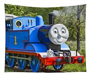 Here Comes Thomas The Train Tapestry