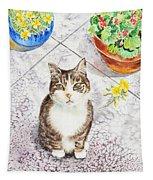Here Kitty Kitty Kitty Tapestry