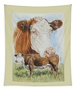 Hereford Cattle Tapestry
