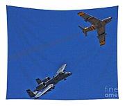 Heritage Flight A-10 F-86 Tapestry