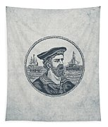 Hero Sea Captain - Nautical Design Tapestry