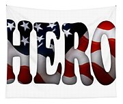 Hero Typography 2 Image On Text Tapestry
