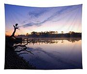 Heron Sunrise On The Bon Secour Tapestry